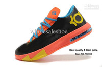 Hight Cut Men Summer Tennis Sneakers Shipping 2013 High Quality Famous Player Kevin Durant KD VI 6 basketball shoes KD V 5 shoes men athletic shoes size 41-47