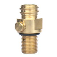 Wholesale New CO2 Tank Brass Soda Pin Valve
