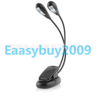 Wholesale LED Reading Lamp Clip on Dual Arms LED Flexible Book Music Stand Light Reading light