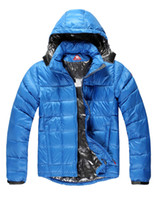 Wholesale Free Arrive New Warm Down Jacket Men Winter White duck Down Parka Outerwear Coat