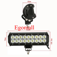 Wholesale 9 Inch W Cree lm IP68 W LED Light Bar Flood Spot Pencil Beam for WD x4 Offroad Jeep Truck Car Mining Boat LED Work Light