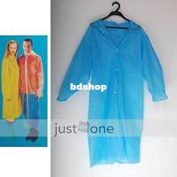 Wholesale Travel Camping Adult Women Men Unisex Raincoat Outdoor PE Rain Disposable Coat