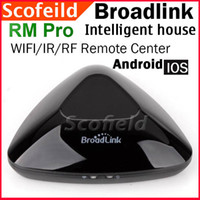 2.4GHZ rf system - Broadlink RM Pro Smart Home Intelligent house WIFI IR RF Remote Controll Center System for iPhone Android Device