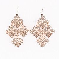 Wholesale Women Alloy Earring Lady Jewelry Dangle Stud Earing For Party Presents SE075
