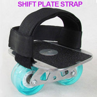 Wholesale Freeline Drift Skates Doard Straps Belts one pairs Two black