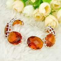2PCS Lot High Quality Oval Shaped Brazil Citrine Gemstone Ch...
