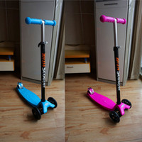 Wholesale Maxi Micro Kickboard Scooter Floding Adjustable Kick Scooters for Kids Toys Pu Big Wheels Pro Scooters
