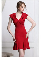 2014 Fashion Dresses Runway style One piece bodycon Mermaid ...