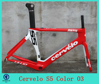 Wholesale 2014 cervelo S5 VWD black white carbon road bike bicycle frame fit ultegra groupset Campagnolo sram red colnago m10 c59 de rosa look
