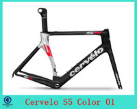 Cheap 2014 Cervelo custom painting Bicycle carbon frame S5 VWD aero road carbon fiber frame+fork+aero seatpost+clamp+headset 01
