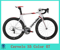 Wholesale Hot sale Cervelo S5 carbon frame carbon bicycle frame road carbon frame Size cm is availavle colors for choice