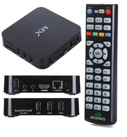 Cheap Hot sell 4.2 Android MX TV Box best smart Xbmc android TV Box WIFI Bluetooth support MX Smart IPTV Stick DHL Free shipping
