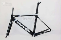 Wholesale by EMS gray black Cervelo S3 team full carbon fiber frame fork seatpost CLAMP CM