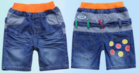Wholesale hot selling Robin fashion short jeans for kids