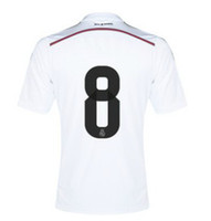 2014 New Cheap Soccer Jersey White Home 14- 15 Season Short S...