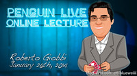Wholesale Live seminars Penguin Live Online Lecture Roberto Giobbi magic video send by email accept paypal