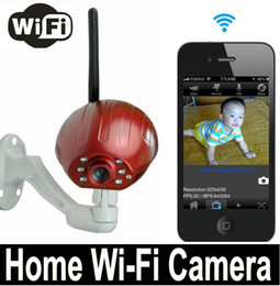 New Arrival Mini Vision CMOS Digital Wireless Home WiFi Camera 50Mbps Support Android and IOS WIFI Digital camera p2p H.264 Free Shipping