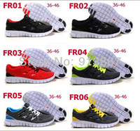 Lace-Up Cotton Fabric Breathable 2014 men's women's fashion free run 2 running shoes sporting summer walking shoes sneakers 36-45