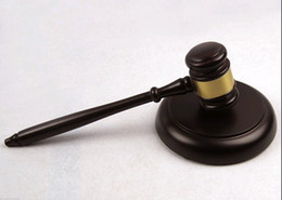 Wholesale Wooden Handcrafted Wood Gavel Sound Block for Lawyer Judge Auction Sale