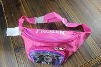 Wholesale 201407y01 Frozen Waist Bag pocket bag Princess children small pocket bag