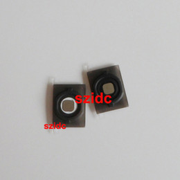 Wholesale 100pcs Home Button Key With Holder Rubber Gasket Metal Pad For iPhone S New Black White With Tracking Number