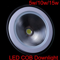 Newest Led COB downlights Indoor lighting 5W 10W 15W ceiling...