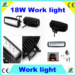 Wholesale 20Pcs Fedex free adjustable w CREE LED Work Light Truck Tractor Jeep ATV Fog Light CREE LED Worklights External Lights Construction light