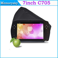 Wholesale 7 inch Game Player Android Tablet PC M GB with HDMI Dual Camera smart gamepad tablet pc Top Selling