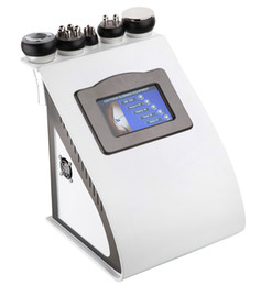 Wholesale New In Bipolar RF Ultrasonic Liposuction Cavitation Vacuum Slimming Machine