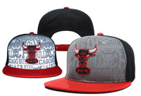 Wholesale Bulls Snapbacks Draft Highly Reflective Surface Snapback Caps Cheap Basketball Snap Backs Hats Cool Snap Back Cap Sports Hat Mix Order