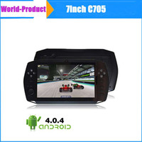 Wholesale 2014 inch Touch Game Player Android Tablet PC M GB with HDMI Dual Camera Smart game console gamepad
