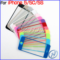 Colorful 0. 4mm Tempered Glass for iphone 4 4S 5 5S Screen Pr...