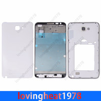 Wholesale 1 full battery door back housing cover with frame and stand holder for SAMSUNG Galaxy NOTE N7000 i9220 full back housing