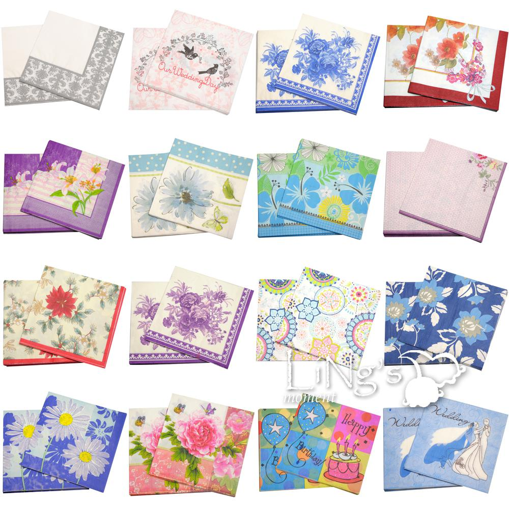 Color printing paper - Color Printing Paper Towel Napkins Variety Of Patterns And Creative Color Printing Napkins Wedding Table Favours Wedding Wholesale Supplies From Ts02