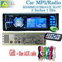Cheap transmitter 2014 new 3.0 inch high-definition digital screen Car MP5 player dual video input Car mp3 player, Car mp4 player with FM radio
