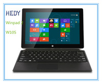 Wholesale HEDY Winpad W10S Intel HD Graphics Z3740D core Ghz W camera HDMI px IPS screen inch GB GB Tablet DHL Free