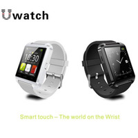 Wholesale Latest Fashion U8 Bluetooth for Smart Watch r Android Phone Wearable Electronic Sport Smart watch Android for iPhone Samsung