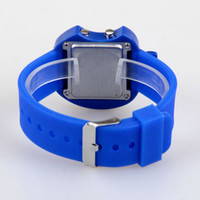 twelve south - South Korean Hot Strong Personality LED Students Fashion Table Silicone Watches twelve colors