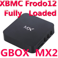Cheap FREE SHIPPING Smart Android tv Box Google TV Fully Loaded XBMC G-Box MX2 Navi-X, Icefilms, Sports Adult Devil Smart TV Box