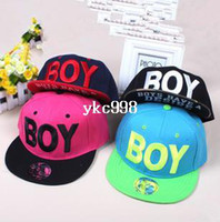 Cheap wholesale price Fashion BOY letter baseball caps Hip Pop Snapback caps free shipping Hats & Caps for autumn -summer