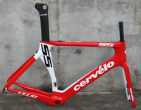 Cheap HOT 2014 CERVELO Bike Frame Cervelo S5 VWD Carbon Road frame BBright Bicycle Frame fit Mechanical and DI2 Size:48 51 54 56 58cm available!