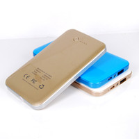 For LG note 3 battery - Blue Gold White Philips Power Bank mAh External Battery Backup Charger For iPhone S HTC ONE M7 M8 Samsung S5 Note