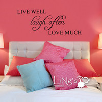 Wholesale Removable wall stickers living room bedroom wall stickers alphabetical European decorative stickers green lettering stickers wall stickers