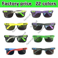 Wholesale SPY sunglasses KEN BLOCK HELM brand Cycling Sports Outdoor men women spy optic polarized sunglasses Sun glasses New colors
