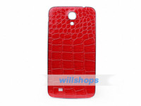 For Samsung n9200 Plastic Mixed color  Leather pattern PC battery back cover case for samasung galaxy mega 6.3 i9200 housing cover case 50pcs a lot