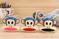 Cheap Cute cartoon monkey mouth stars mAh Mobile Power 9600mAh universal mobile phone charging Po
