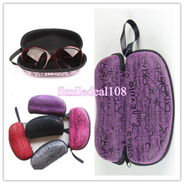 Wholesale Sunglasses SuperHard Case Zipper Peanut Eyewear Glasses Storage Box Portable Protector Box