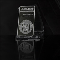 apmex silver bars - New US Crafts APMEX One ounce fine silver Plated metal commemorative souvenir coins brass silver plated pure silver bullion bar