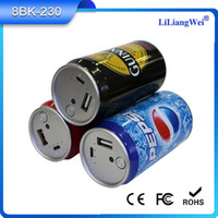 Wholesale Coke explosion models of mobile power supply mA soda cans moving Shenzhen factory