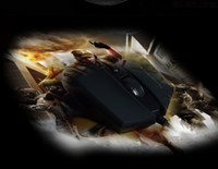 Cheap Best 1pc 2014 New arrival Hot sale 3200DPI 7Buttons LED Optical USB Wired Gaming Mouse for PC Laptop Mac free Shipping